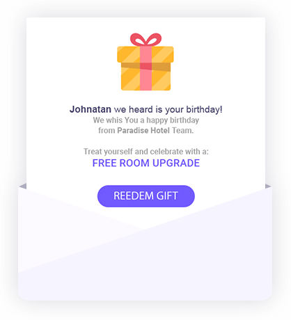 Felicita a tus clientes por su cumpleaños