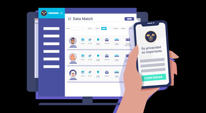 servicios de Portal Pro y Data Match